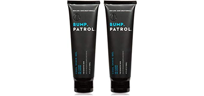 Bump Patrol Cooling Gel - Shave Gel for Razor Bumps