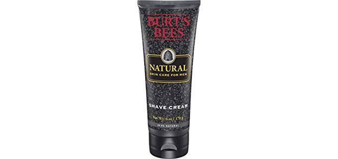 Burt's Bees Skin Care - Natural Shaving Cream for Ingrown Hair