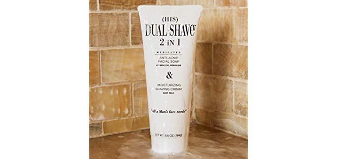 Dual-Shave Medicated - Liquid Shaving Cream for Oily Skin
