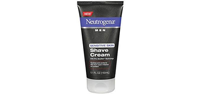 Neutrogena  Pro-Soothe - Non-Comedogenic Shaving Cream for Eczema