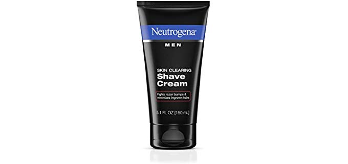 Neutrogena Shave Cream - Skin Clearing for Razor Bumps