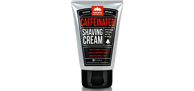 PSC Caffeinated - Organic Unscented Shaving Cream