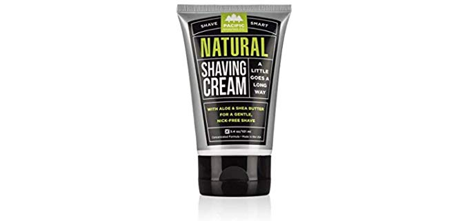Pacific Shaving Co. Natural - Natural Shaving Cream for Bald Head