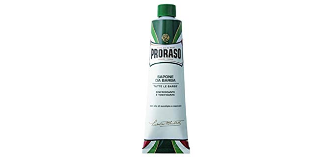 PRORASO Toning - Shaving Cream for Razor Bumps