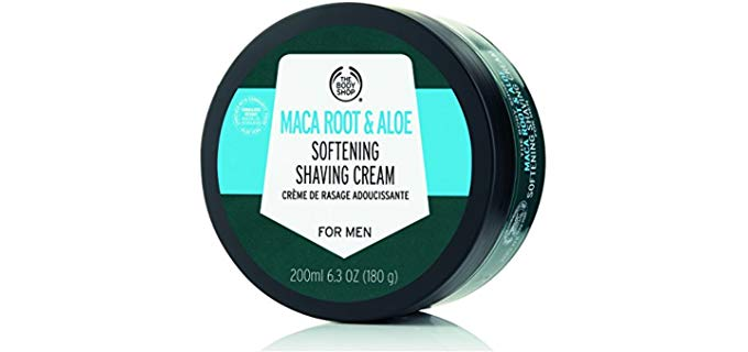 The Body Shop Shave Cream - Softening for Dry Skin
