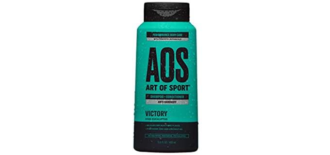 Art of Sport Dry Scalp - Victory Scent Bald Head Shampoo