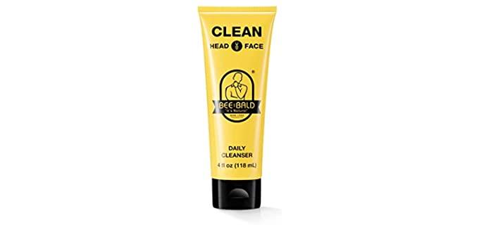 Bee Bald Exfoliating - Moisturizing Bald Head Cleanser