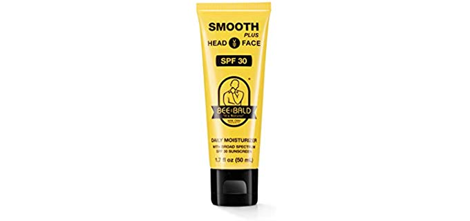 Bee Bald SPF 30 - Moisturizing Sunscreen for Bald Head