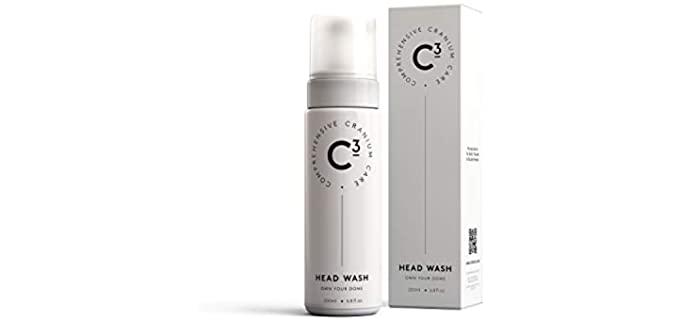 C3 Paraben-free - Gentle Shampoo for Bald Head