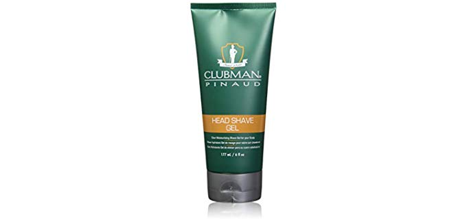 Clubman Gel - Moisturizing Shaving Gel for Bald Head