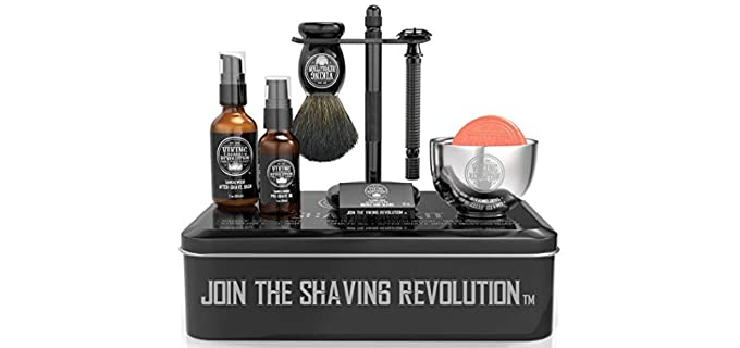 Viking Revolution Premium - Vintage Shaving Kit