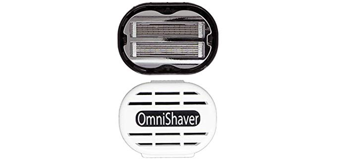 Omnishaver Razor - Fast Shaving Razor for Head