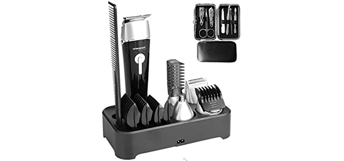 SMINIKER Multi-functional - Waterproof Head Shaving Kit