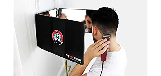 The 360 Degree Mirror Three Way - Head Saving Mirror