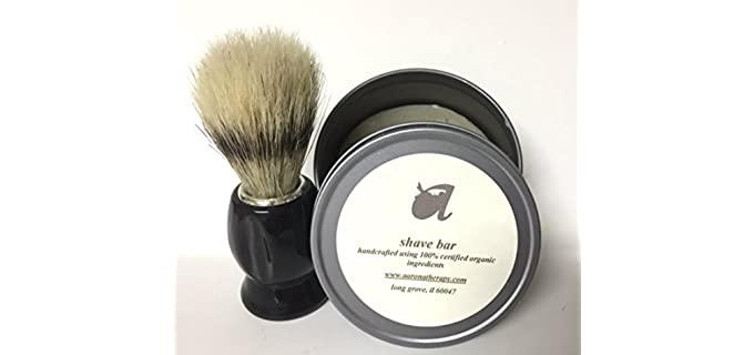 Aaronatherapy Faux - Vegan Badger Brush