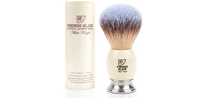 VIKINGS BLADE Polished - Faux Brush For Bald Head