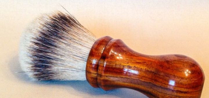 wood shaving brush