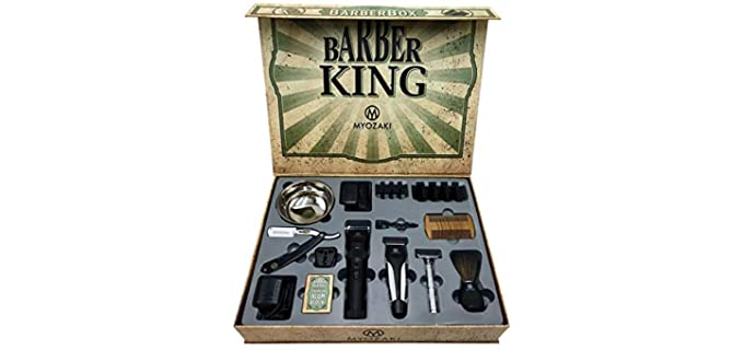 MYOZAKI Barber Box - Shaving Kit