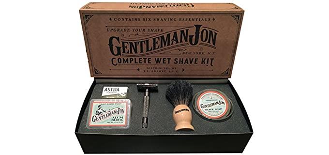 Gentleman Jon Luxury - Wet Shave Kit