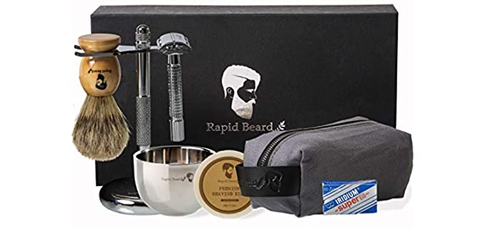 Rapid Beard Exclusive - Shaving Kit for Travel