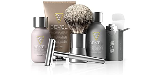 Bevel Starter Oriented - Complete Shaving Set