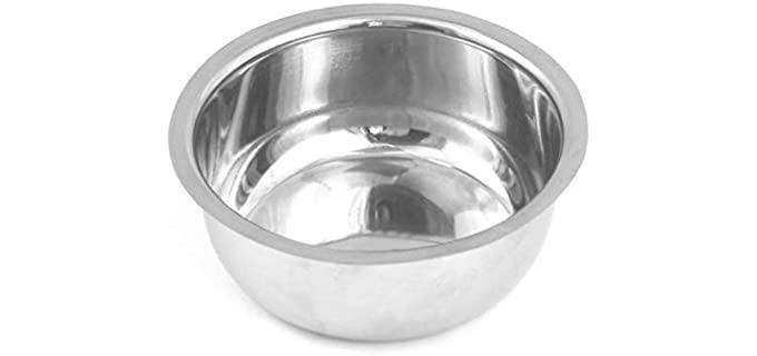 DDP High-Quality - Chrome Shaving Bowl