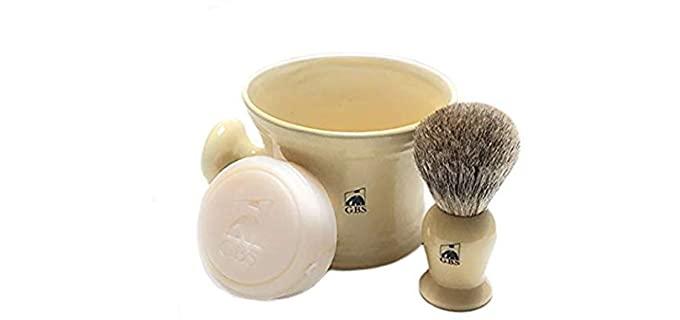 GBS Ivory - Natural Shaving Bowl