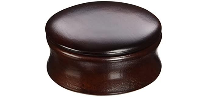 Kingsley Dark Wood - Shaving Bowl