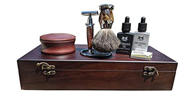 Maison Lambert Organic - Wooden French Shaving Kit