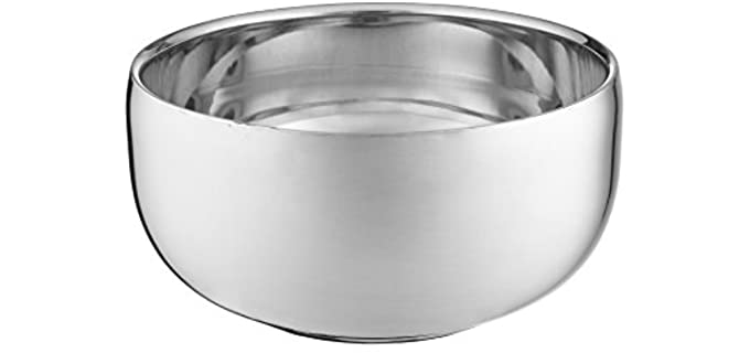 Perfecto Smooth - Stainless Steel Shaving Bowl