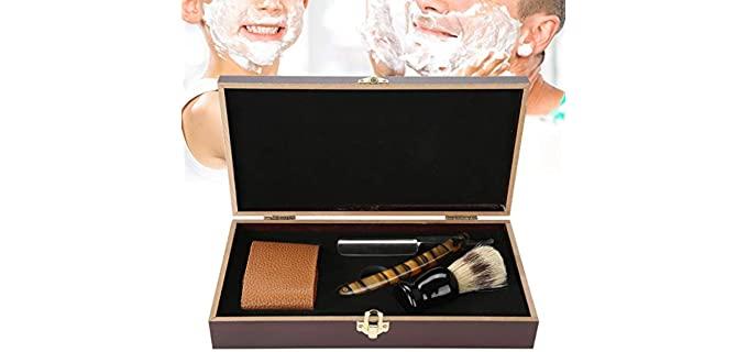Oyunngs Straight-Edge - Wooden Shaving Kit
