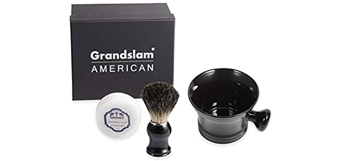 Grandslam Pure Badger - Cermanic Shaving Bowl