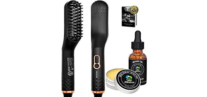 Xikezan Upgraded - Versatile Best Beard Straightener