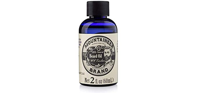 Mountaineer Scented - Best Scented Beard Oil