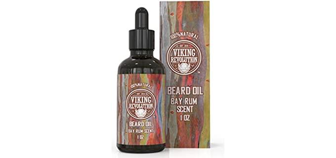 Viking Revolution Laurel Rum - Best Scented Beard Oil