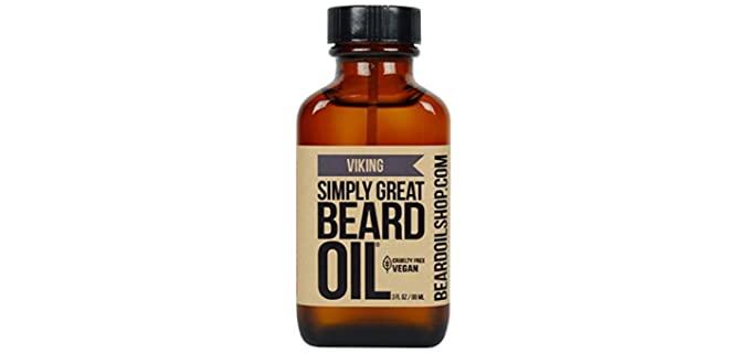 Simply Great Vegan - Great Scented Beard Oil