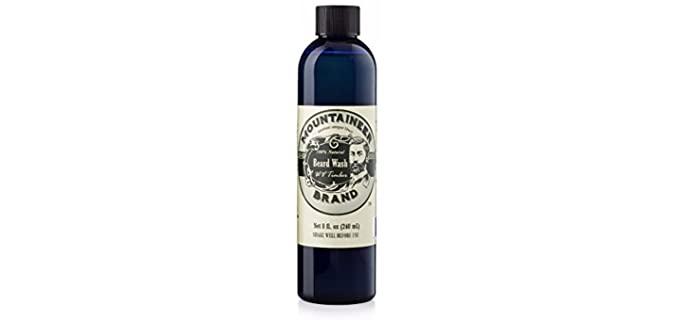 Mountaineer Brand Timber Scent - Best Beard Shampoo for Dandruff