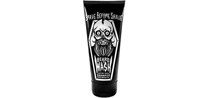 Grave Before Shave Grooming - Best Beard Shampoo for Dandruff