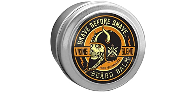 Grave Before Shave Conditioning - Taming Best Beard Balm