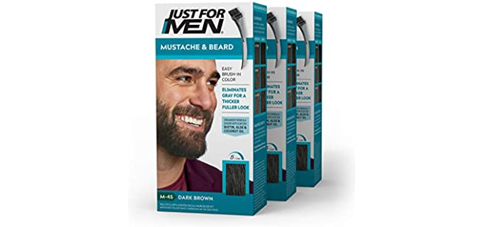 Just For Men Brush-In - Thickening Beard Color