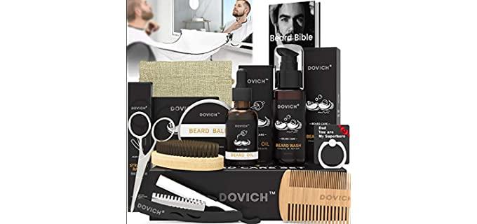 dovich 12 in 1 - Shaving Kit with Straight Razor