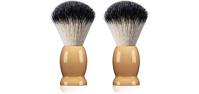 Bassion 2 Pack - Vintage Shaving Brush