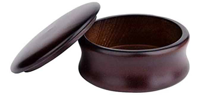 grandslam Lid - Shaving Bowl in Wood