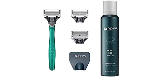 harry's Razors Set - Shaving Kit for Travelling