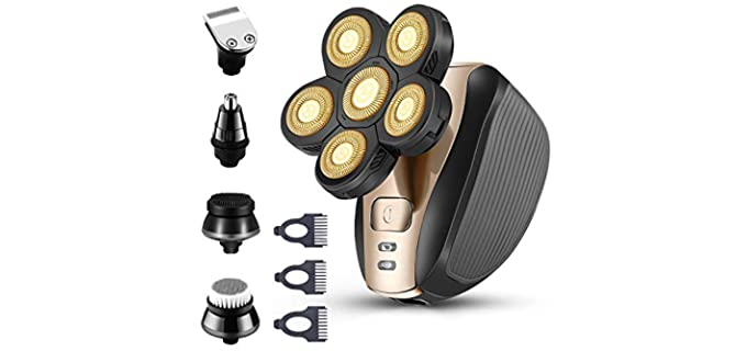 Roziapro Electric - Shaver for Bald Heads