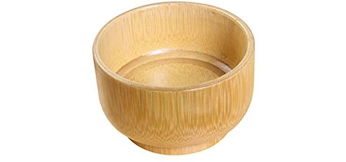 Supvox Bamboo - Wooden Shaving Bowl