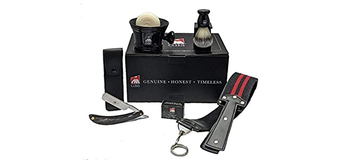 G.B.S Store Shave Ready - Vintage Shaving Kit