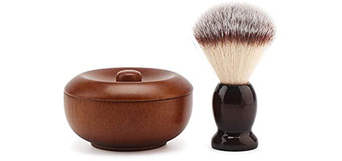 Segbeauty Store  Vintage  - Wood Shaving Bowl