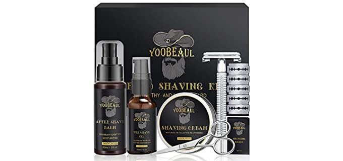 Youbeaul Luxury - Shaving Kit for Travelling