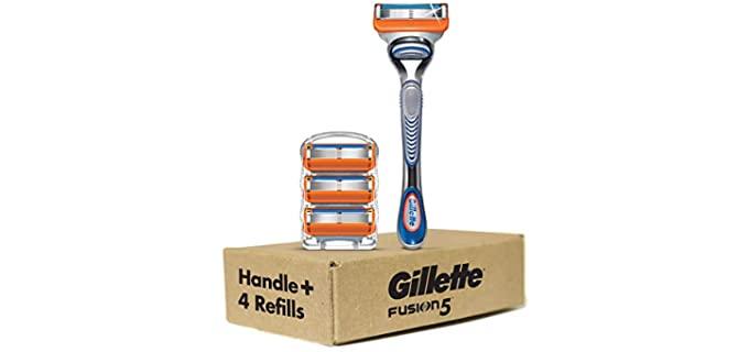 Gilette Fusion 5 - Head Shave Razor